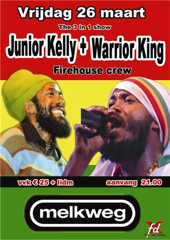 junior kelly, warrior king and firehouse crew