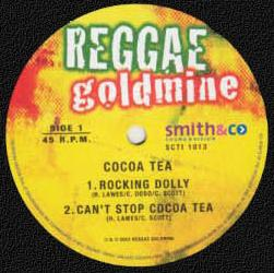 "reggae goldmine label - 12"" vinyl"
